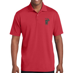 Filthy 5th Racer Mesh Polo